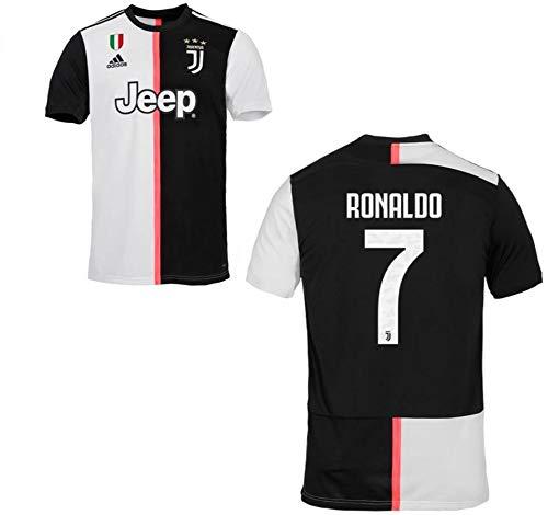 a7ee53c60 MAESTRI DEL CALCIO Maglia Gara Home Ronaldo CR7 F.C. Juventus Juve 2019/2020  (Serie