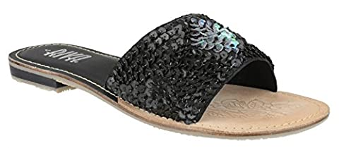 Riva Schooner Mule Ladies Black 37