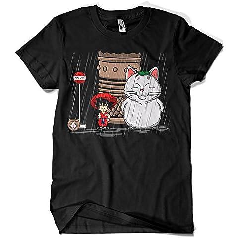 2225-Camiseta Premium, My Neighbor Karin - Dragon Ball -Totoro (Melonseta)