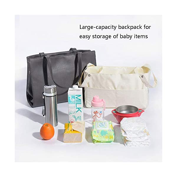 YANGGUANGBAOBEI Baby Lounger,Infant Toddler Cradle Multifunction Storage Bag, Nursery Travel Folding Baby Bed Bag YANGGUANGBAOBEI 1. Stylish and functional.Moms can have it all - a portable bassinet,a convenient portable changing station, a bag for all of baby's essentials, and chic, effortless style every day.It is the diaper bag and changing station rolled into one stylish tote 2.Moms no longer have to choose the ugly diaper bags,diaper bags can also be stylish,chic.The tote also has expention button and stroller straps.Waterproof leather and 100% cotton changing pad. 3. Roomy insert organizer.The cotton 100% Insert organizer is designed with optimal storage space for all your baby essentials,Big capacity as a diaper bag.It is also with 2 hanging bottons can be easily hong to stroller or baby bed. 4