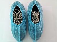 Disposable Non Woven Shoe Cover, Universal Size (Blue) 100 Pcs.