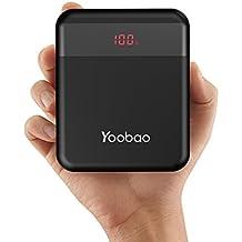Yoobao m4q 10000mAh Banco de energía Qualcomm carga rápida 3.0Doble Entrada (USB-C & Micro) y doble salida cargador portátil apoyo huawei carga rápida batería externa para Samsung iPhone y más