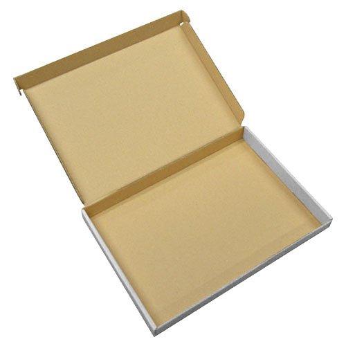 Versandkartons aus stabilem Karton in weiß, Größe C5, für große Briefe des Formats A5, 10Stück