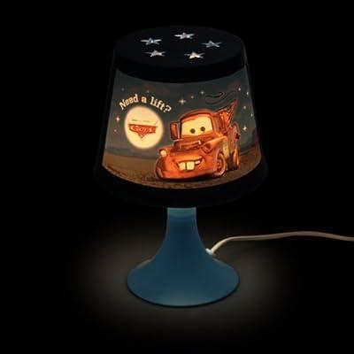 DISNEY CARS AUTOS Kinderlampe HOOK Nachttischlampe Kinder Kinderzimmer Beleuchtung von Disney auf Lampenhans.de