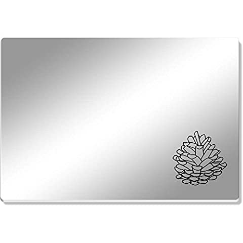 'Pine Cone' Mirror Acrylic Table Placemat (CR00037816)