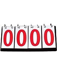 Sport Compétition Scoreboards Basketball Rouge à quatre chiffres Tableau de bord
