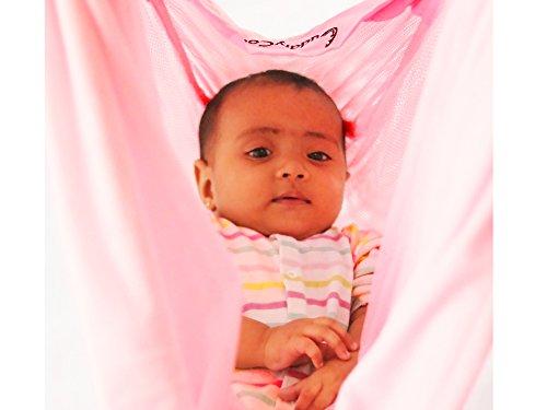CuddlyCoo Baby Hammock - Cradle (Pink)
