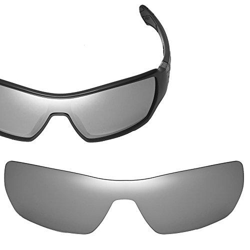 Cofery Ersatzgläser für Oakley Off Shoot Sonnenbrille - Verschiedene Optionen erhältlich, Unisex, Titanium - Non Polarized, Einheitsgröße