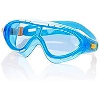Speedo Biofuse Rift Gafas de Natación, Unisex niños, Azul/Naranja, Talla Única