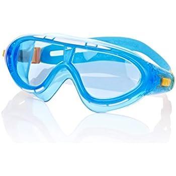 Speedo Rift Gafas de natación, Infantil, Naranja/Azul, 2 ...