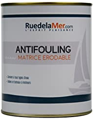 Antifouling erodable - Bleu marine - 0.75 L- Ruedelamer