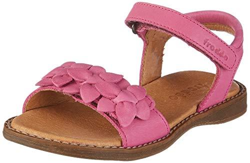 Froddo Mädchen G3150128 Girls Peeptoe Sandalen, Pink (Fuchsia I19), 28 EU Elegante Gold Open Toe