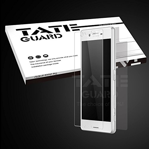 compatible-with-casesony-xperia-x-screen-protectortateguard-high-definitioncrystal-clear-tempered-gl