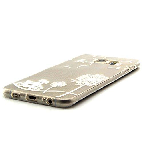 Voguecase® für Apple iPhone 6 / 6s (4,7 Zoll) , Schutzhülle / Case / Cover / Hülle / Ultra Slim Fit TPU Gel Skin (Pink Anchors) + Gratis Universal Eingabestift Klein Liebhaber 05