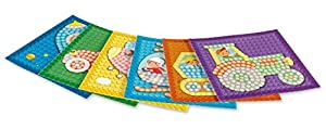 Play maíz 160202-Card Set Mosaic Little Traffic, Juego de Manualidades
