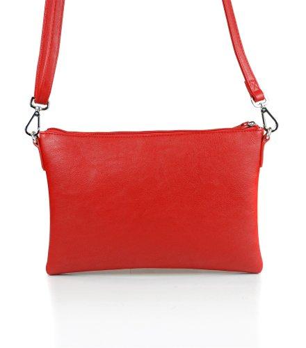 Missco Girl, Borsa a tracolla donna Rosso (Rosso)