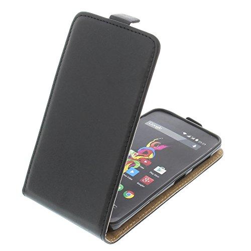 Étui pour Archos 40d Titanium Flipstyle Coque de protection Téléphone portable noir