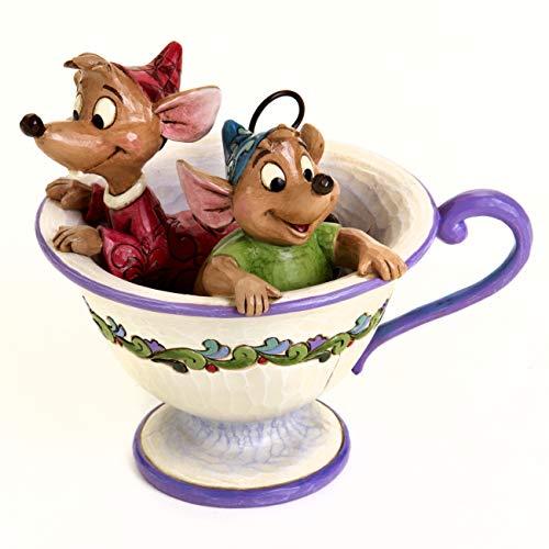 Enesco Disney Tradiciones por Jim Shore Jaq y Gus de Cenicienta Figura