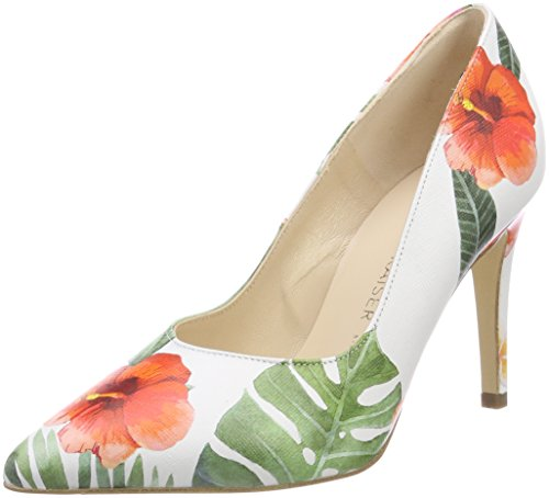 Peter Kaiser Damen Danella Pumps, Mehrfarbig (Multi Tropica), 38 EU (5 UK)