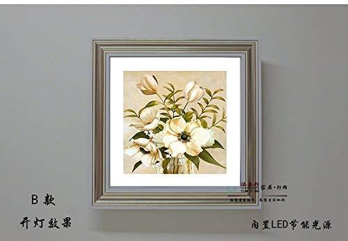 Wall Light Home Wandleuchte Led Durchgangskorridor Für Das Anhaften Der Gemälde Schmücken Die Bambus Nachttischlampe, 21X31X8Cm Natürliches Licht -