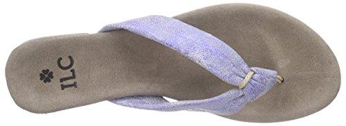 I love candies ILC Sandale Damen Zehentrenner Violett (Lilac 889)