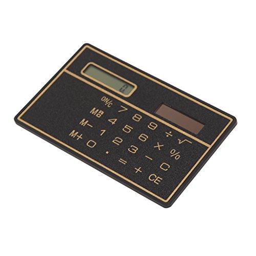 Cold Toy New Ultra Thin Mini Kreditkarte Größe 8-stellige Solar Pocket Pocket Calculator