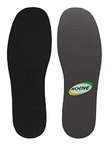 Noene N02 Einlegesohle Shock Absorbing 2 mm für höchsten Gelenk Schutz mit Green-Feet Reinigungsfeuchttuch (43)