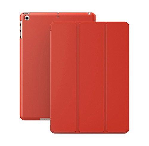 Khomo iPad Mini 1, 2, 3 Hülle Case Rot Rotes Gehäuse mit doppelten Schutz ultra dünn und leicht, Smart Cover  - Dual Red
