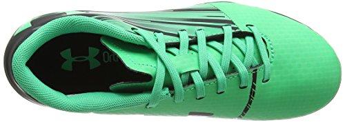 Under Armour Unisex Kids    Ua Spotlight Dl Fg Jr Footbal Shoes Black   Black    1 UK 33 EU