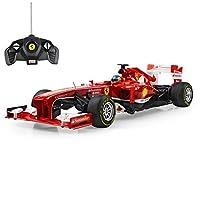 RC voiture télécommandée, modèle d'origine sous licence de la formule 1 Ferrari F138.  –Voiture télécommandée, modèle d'origine sous licence. - Prêt à partir - immédiatement en état de marche. Réplique fidèle dans les moindres détails. - Échelle...