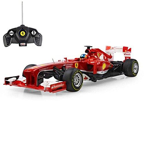 ferngesteuertes formel 1 auto FERRARI F138 - original RC ferngesteuertes Lizenz-Fahrzeug F1 Formel 1 Formula One im Original-Design, Modell-Maßstab 1:18, RTR inkl. Fernsteuerung