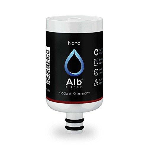 Alb Filter Nano Duschfilter Ersatzkartusche. Anti-Legionellen-Filter sicherer zertifizierter Sofortschutz für Dusche und Bad. Made in Germany -