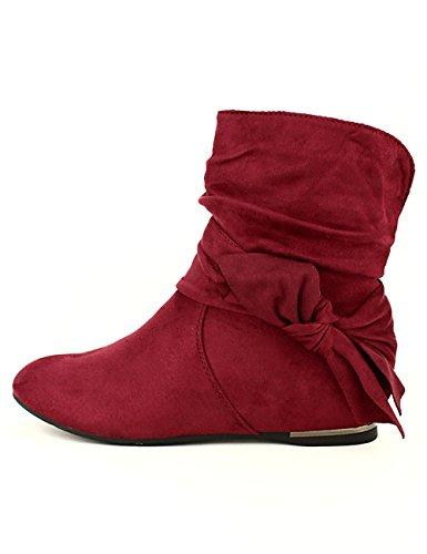 Cendriyon Bottine Bordeaux XANA Mode Chaussures Femme