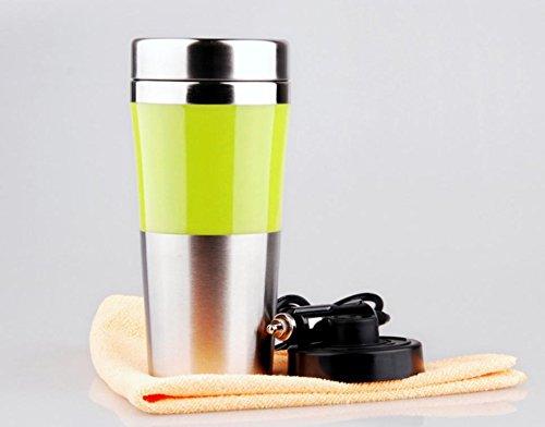 12V-Bord Tasse Auto Cup Edelstahl Liner Tasse heißes Wasser , 401-500ml