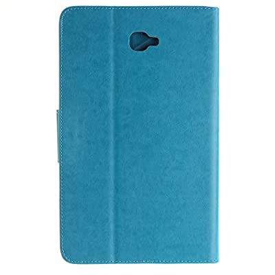 Samsung Galaxy Tab 4 7.0 Case [with Free Earphone], Billionn® Dandelion Embossed Premium PU Leather Flip Cover Shell Wallet Slim Stand Protective Cover for Samsung Galaxy Tab 4 7.0 Inch T230 T231 T235