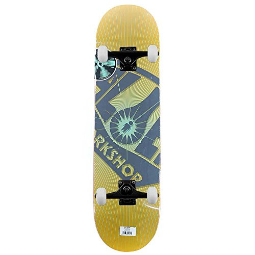 alien-workshop-skateboards-logo-og-burst-komplett-skateboard-gelb-216-cm