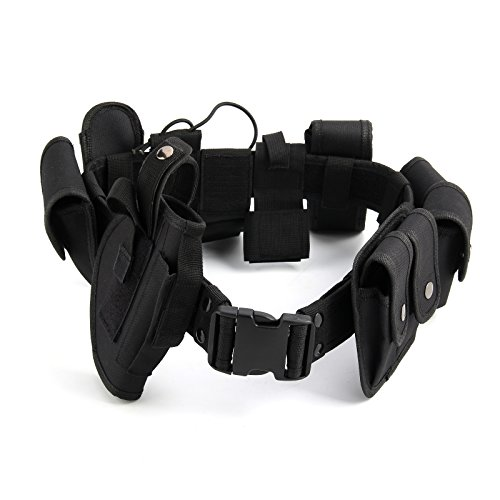 AllRight Police Guard Tactical Belt Security Belt System Utility Kit