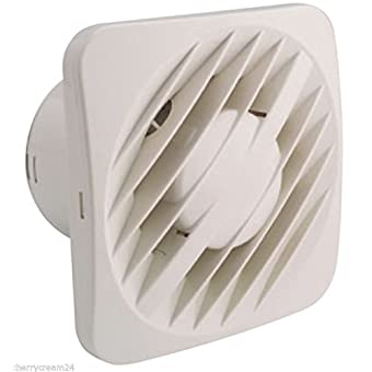 5 125mm Greenwood SELECT AXS125 Axial Kitchen Bathroom Toilet Extractor Fan by Select