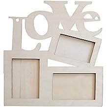 DIY Cadre Photo Romantique LOVE en Bois