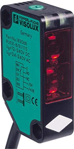 Pepperl+Fuchs Fabrik Reflexions-Lichtschranke RLK31-8-1200RT31/115 Lichttaster energetisch 4050143016709 -