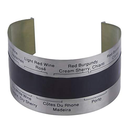 ouying1418 Acciaio Inossidabile LCD Elettrico del Vino Rosso Termometro Digitale Meter di Temperatura