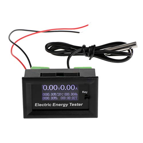 Besttse 120 V 20 A Digital DC Voltmeter Stromspannungsmesser LCD Energy Charger Tester -