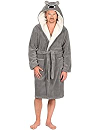 Amazon.co.uk  Grey - Dressing Gowns   Kimonos   Nightwear  Clothing 66c3dc9c6
