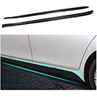 RKRCXH Accesorios For El Coche Sedán Taloneras Extensión De Labios Delantal Fit For BMW 4Series F32 M Sport Coupe Cabrio 2014-2017 Fibra De Carbono (Color : Upper Side Skirts)