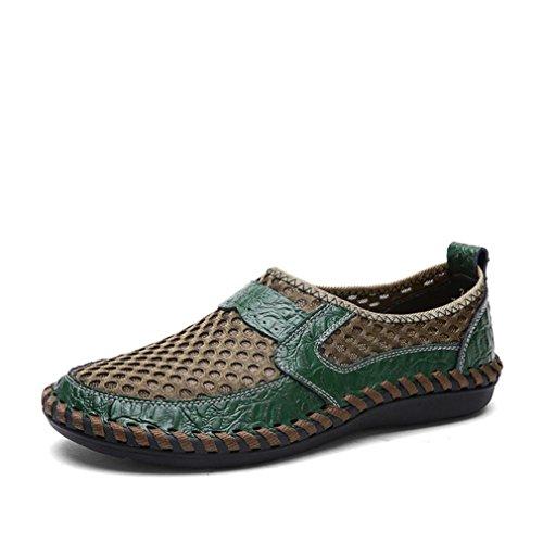 ITISME SPORT Breathable Sport-BeiläUfige Schuhe der MäNner Wellen-Slacker-Maschen-Pedale Beschuht Erbsenschuhe Räumungsverkauf-Promotion