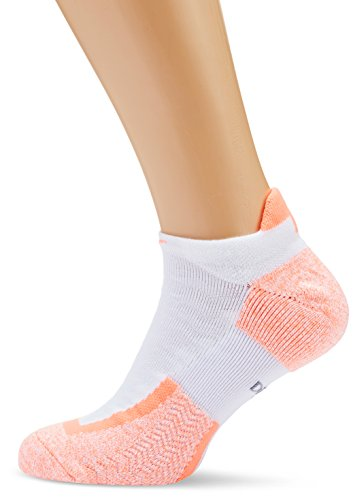 Nike No Show Socks Elite Tennis Blanco / Naranja (WHITE/BMANGO/(BRIGHT MANGO))