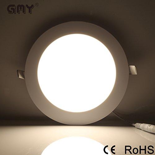 GMY Lighting® Plafoniere Faretti Led Tondo Da Incasso Con Alette