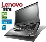 Lenovo ThinkPad TSeries 14in Intel i5 2.6GHz / 3.50Ghz - DISCO SSD - 4 GB - Garanzia 24 Mesi (Notebook Ricondizionato  Netmotive)