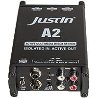 A2 aktive Multimedia-DI-Box stereo, mit PAD und Groundlift