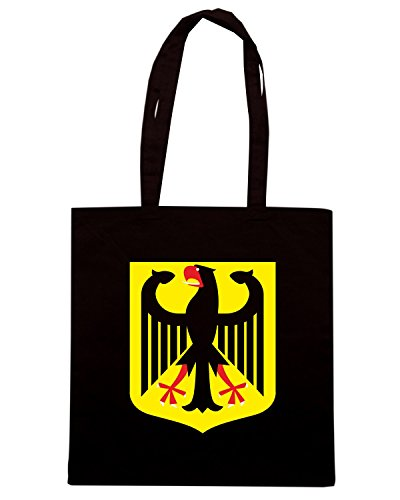 T-Shirtshock - Borsa Shopping TM0093 Germany citta - Copia Nero